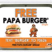 A&W SMS Campaign