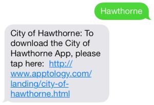 hawthorne short code