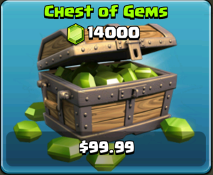 Clash of Clans Gem Box