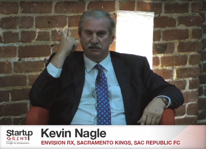 Kevin Nagle speaking Startup Grind Sacramento
