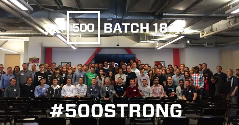 500 Startups Batch 18